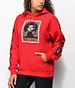 Obey Afrocentric sudadera con capucha roja