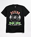 Obey Defend Black Lives Black T-Shirt