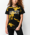 Obey Gig Black & Gold Bleach Box T-Shirt