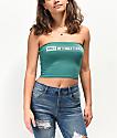 Obey International 2 camiseta palabra de honor verde azul