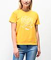 Obey Mira Rosa Mango Box camiseta