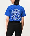 Obey Mira Rosa camiseta azul real