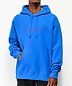 Obey Nouvelle II sudadera con capucha azul