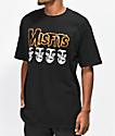 Obey x Misfits Fiend Skull camiseta negra