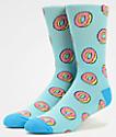 Odd Future Allover calcetines azules claros