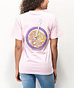 Odd Future Cereal Bowl camiseta rosa claro
