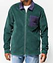 Odd Future Colorblock chaqueta de pana verde y morada