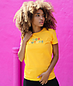 Odd Future Embroidered Gold T-Shirt