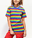 Odd Future Rainbow Striped T-Shirt