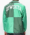 Odd Future chaqueta entrenador verde