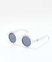 Odd Future gafas de sol redondas blancas