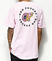 Odd Future x Santa Cruz Circle Logo Pink T-Shirt