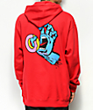 Odd Future x Santa Cruz Screaming Donut sudadera roja con capucha