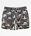 Party Pants Coachella shorts de baño negros