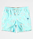 Party Pants Cruisers shorts de baño de color menta