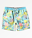 Party Pants Cut Up shorts de baño azules