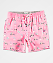 Party Pants Hammertime shorts de baño rosas