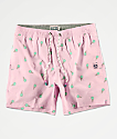 Party Pants Milky shorts de baño rosas