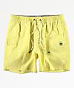 Party Pants Port shorts de baño amarillos