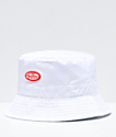 Petals and Peacocks Logo White Bucket Hat