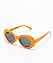 Petals and Peacocks Nevermind Orange Sunglasses