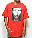 Popular Demand Smoke camiseta roja