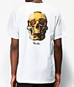 Primitive Gold Pack King camiseta blanca