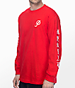 Primitive X Huy Fong Red Long Sleeve T-Shirt