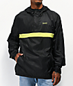 Primitive x Dragon Ball Z Cell chaqueta cortavientos negra