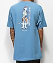 Primitive x Dragon Ball Z Frieza Mecha Slate Blue T-Shirt
