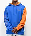 Primitive x Dragon Ball Z Goku sudadera con capucha azul y naranja
