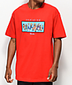 Primitive x Dragon Ball Z Heroes Red T-Shirt
