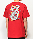 Primitive x Dragon Ball Z Shenron Nuevo Cardinal Red T-Shirt