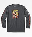 Primitive x Dragon Ball Z Super Saiyan Goku Charcoal Long Sleeve T-Shirt