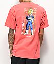 Primitive x Dragon Ball Z Vegeta Glow camiseta rosa