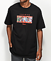 Primitive x Dragon Ball Z Villains camiseta negra