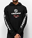 Primitive x Kikkoman Sauce sudadera con capucha negra
