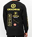Primitive x Kikkoman Season camiseta negra de manga larga