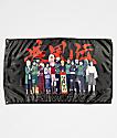 Primitive x Naruto Leaf Village Black Banner