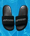 RIPNDIP Black Sherpa Slide Sandals