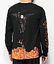 RIPNDIP Hell Pit Black Long Sleeve T-Shirt