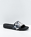 RIPNDIP Lord Nermal Black & Blizzard Camo Slide Sandals
