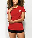 RIPNDIP Lord Nermal camiseta roja con bolsillo