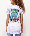 RIPNDIP Nermal Psychedelic camiseta con bolsillo de tie dye lavanda