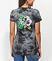 RIPNDIP Tropicalia camiseta negra con efecto tie dye