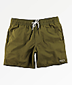 RVCA Gerrard shorts de baño en verde oliva