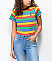 Ragged Jeans Rainbow Ringer T-Shirt