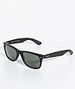 Ray-Ban New Wayfarer Classic Matte Black Sunglasses