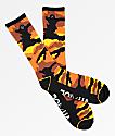 Rothco x Vitriol Zing calcetines de camuflaje naranja