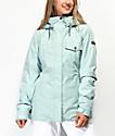 Roxy Billie Harbor 10K chaqueta de snowboard azul